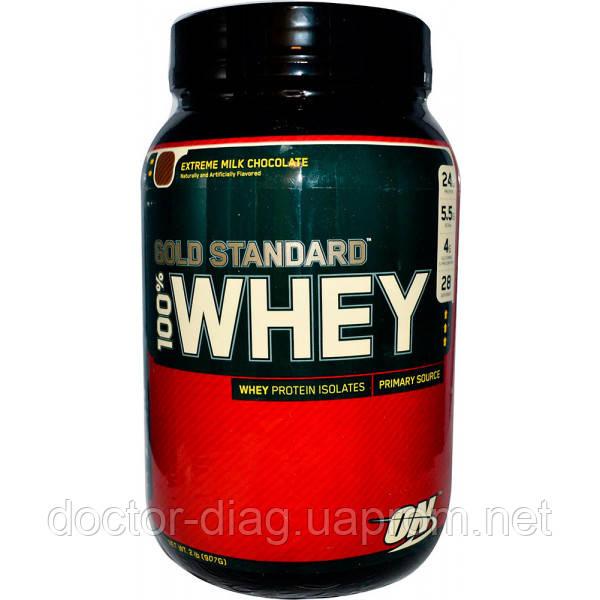 Optimum Nutrition Протеин Optimum Nutrition Whey Gold, 907 г (extreme milk chocolate)