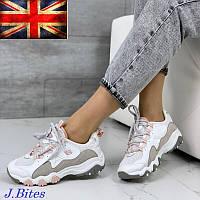 Кроссовки подростковые кожаные, бренд J.Bites (Великобритания), фото 1