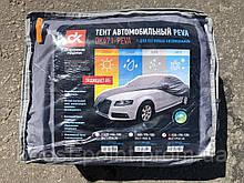 Тент чехол автомобильный Peva Дорожная Карта для седана M (М) 432х165х120 см с флизелиновой подкладкой