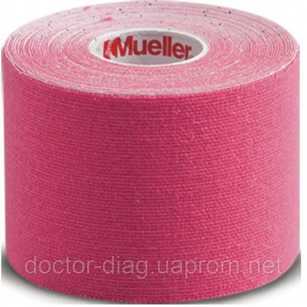 Mueller Кинезио тейп Mueller (28277) 5см х 5м (розовый)