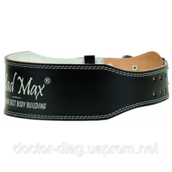 MadMax Пояс кожаный MadMax MFB 245 (черный)