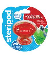 Steripod Антибактериальный чехол для зубной щетки, вулкановый красный (в упаковке 1 шт.)