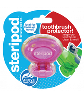 Steripod Антибактериальный чехол для зубной щетки, милашка в розовом (в упаковке 1 шт.)