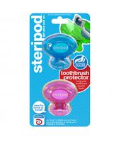Steripod Антибактериальный чехол для зубной щетки, милашка в розовом + тихоокеанский синий (в упаковке 2 шт.)