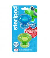 Steripod Антибактериальный чехол для зубной щетки, зеленая зависть + тихоокеанский синий (в упаковке 2 шт.)