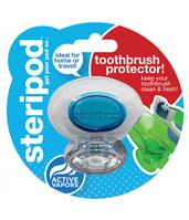 Steripod Антибактериальный чехол для зубной щетки, кристально чистый синий (в упаковке 1 шт.)