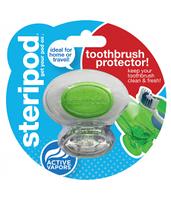 Steripod Антибактериальный чехол для зубной щетки, кристально чистый зеленый (в упаковке 1 шт.)