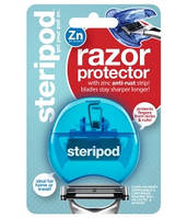 Steripod Защитный чехол для бритвы с цинковой антикоррозийной полоской, синий