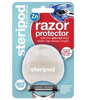 Steripod Защитный чехол для бритвы с цинковой антикоррозийной полоской, жемчужный