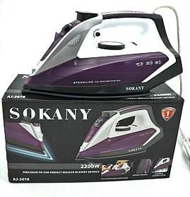 Електричний праска Sokany AJ-2078 зі знімним баком