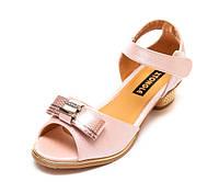 Туфли Fashion A02(32-37)роз.золото каблук 32