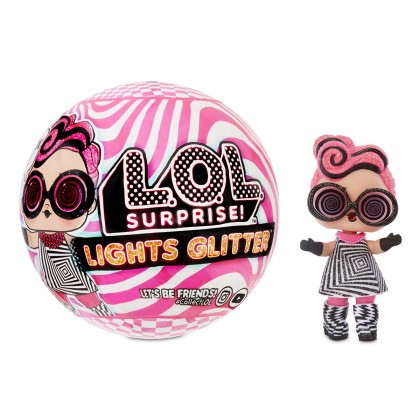 LOL SURPRISE Lights Glitter Neon Мерехтливий блиск ( Игровой набор L.O.L. Surprise! Мерцающий cюрприз )