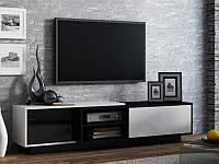ТВ тумба  Sigma 1 180 черный/белый (CAMA)