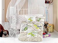 Одеяло хлопковое детское в  кроватку 90*145 ( TM Aran Clasy) Troodon, Турция