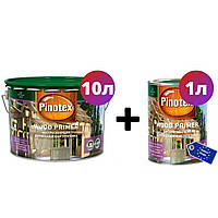 Декоративная водорастворимая грунтовка Pinotex Wood Primer 10л