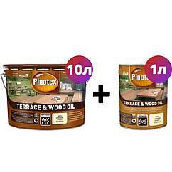 Масло для террас Pinotex Wood & Terrace Oil 10л