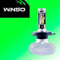 LED лампы для автомобиля H4 WINSO 12-24В, 50Вт, 6000K, 4000Лм (2шт.)