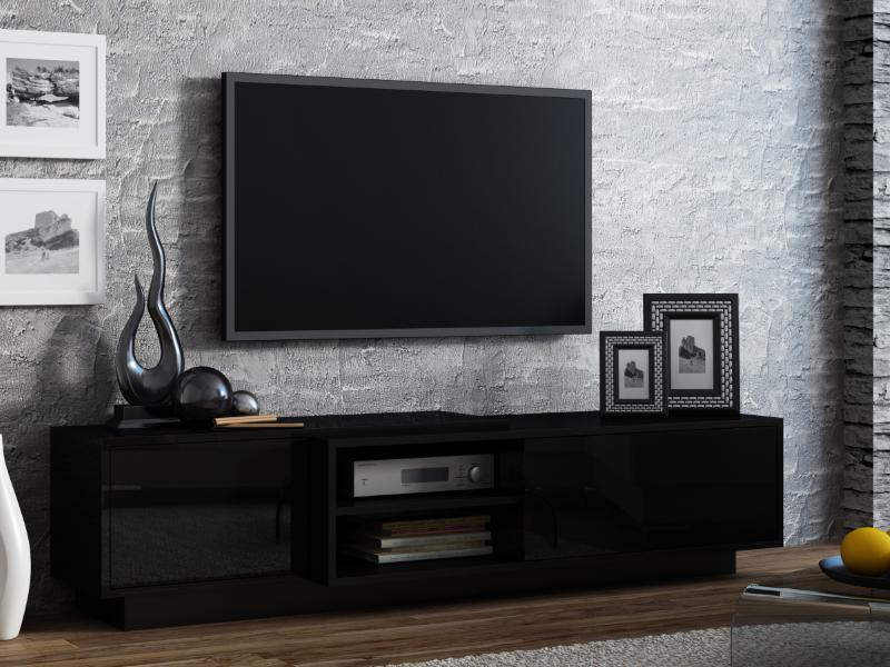 ТВ тумба Sigma 1 180 чорний (CAMA)