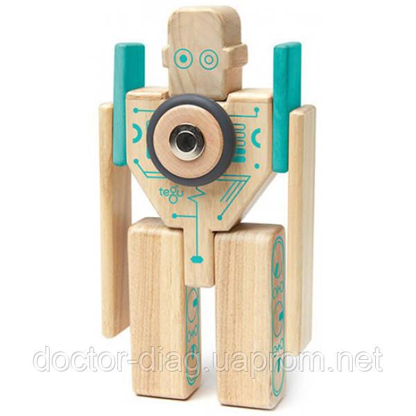 Tegu Набор магнитных блоков Tegu Робот Magbot