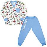 Детская пижама для мальчика *Тревел* (рр.98-116), фото 3