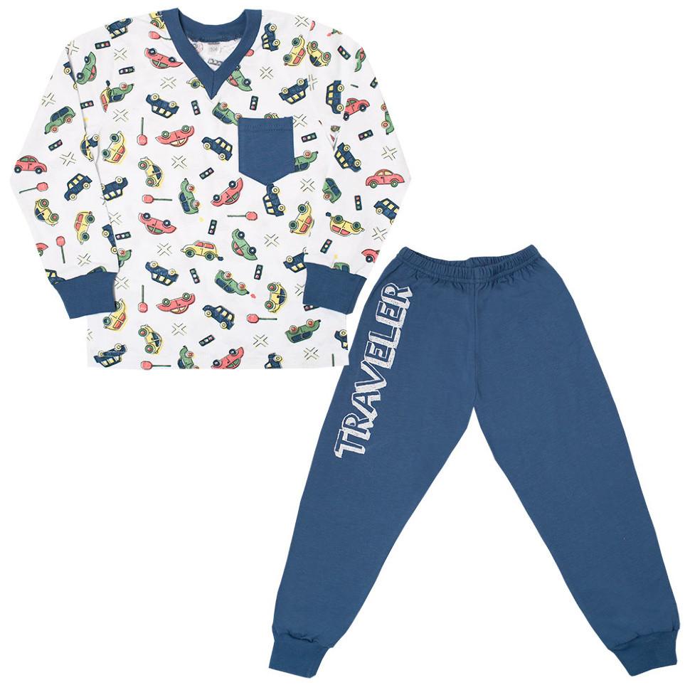 Детская пижама для мальчика *Тревел* (рр.98-116)