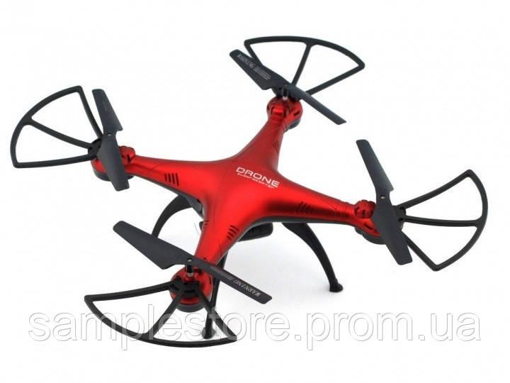 Квадрокоптер 1 000 000 (1million) c WiFi камерой, радиоуправляемый, красный