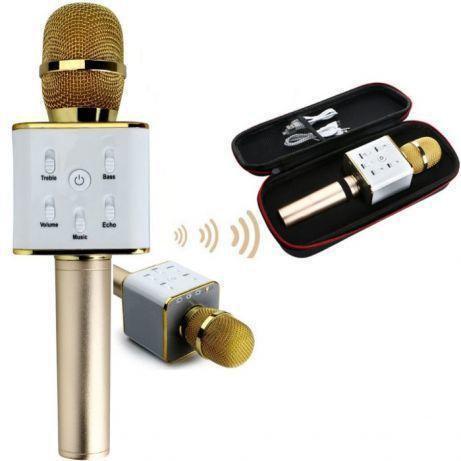 Беспроводные портативные микрофоны для караоке Q7 с динамиком Портативный микрофон tuxun q7 с USB
