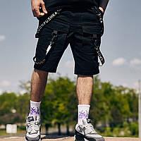 Шорты карго мужские Scarstrope x black | Топ качества