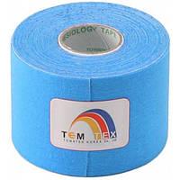 Towatek Korea Кинезио тейп TemTex 5см х 5м (голубой)