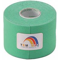 Towatek Korea Кинезио тейп TemTex 5см х 5м (зеленый)