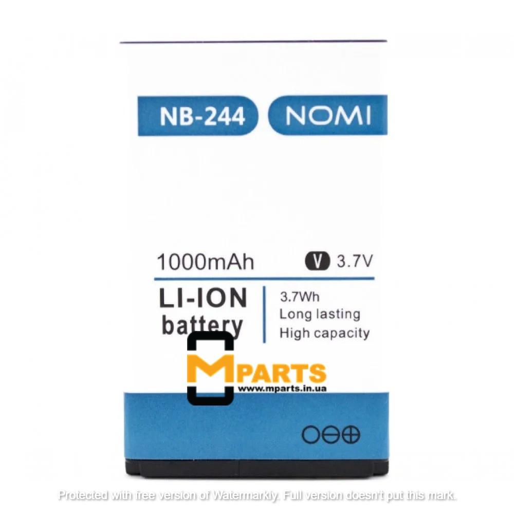 АКБ для Nomi NB-244+/i244