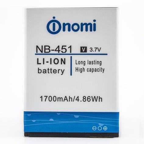 АКБ для Nomi NB-451/i451, фото 2