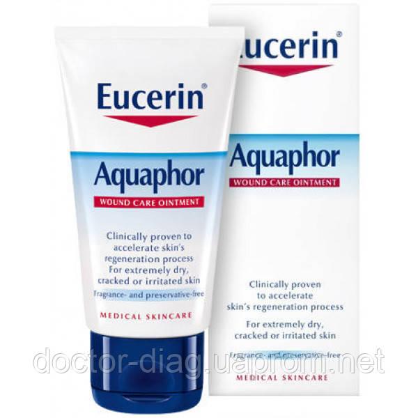 Eucerin Eucerin Aquaphor Восстанавливающий бальзам для раздраженной и поврежденной кожи, 63976 (40 г)