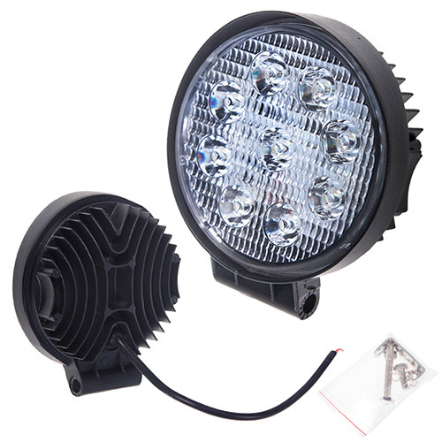 Фара прожектор LML-K0627D SPOT (9led*2w) D=115mm (K0627D S)