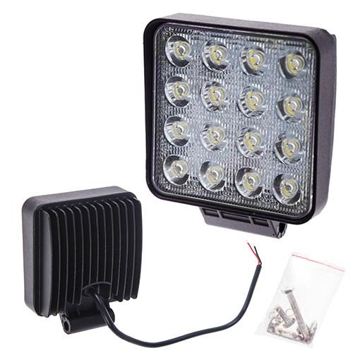 Фара прожектор LML-K1748E/1048E FLOOD(F FLOOD) (16led*2w) 105mm*105mm (K1748/1048E)