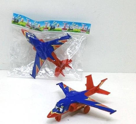 Самолет инерционный на колесиках!