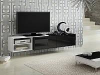 ТВ тумба SiGMA 3 180 белый/черный (CAMA)
