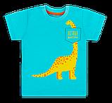 Детская футболка для мальчика FT-20-13-3 *Технозавр* (рр.86-98), фото 3