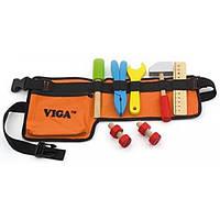 Viga Toys Игровой набор Viga Toys Пояс с инструментами (50532)