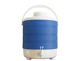 Термос диспенсер для разлива напитков 12 л. (на ножках / разные цвета) Mazhura Kale mz1007