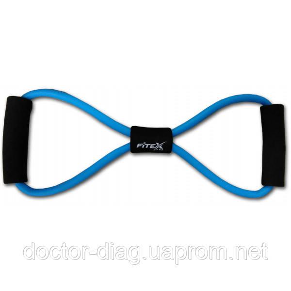 """Fitex Эспандер трубчатый - """"восьмерка"""" Fitex (MD1301-H)"""