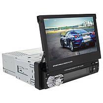 """Автомагнитола 7"""" Pioneer 9601G с автоматически выдвижным экраном 1DIN на Windows навигатором GPS, фото 2"""