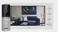 Комплект видеодомофона Arny AVD-7030 1MPX IPS 7''  Белый / Серебро (arny-000142)