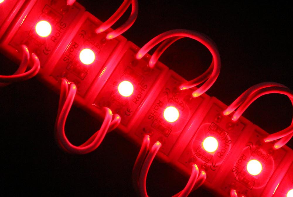 Светодиодный модуль smd 5050 красный 1 диод