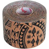 Dynamic Tape Динамический тейп Dynamic Tape 5см х 5м (с черным тату)