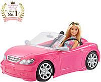 Блестящий гламурный Кабриолет с куклой Barbie FPR57, фото 2