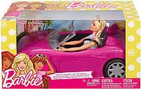 Блестящий гламурный Кабриолет с куклой Barbie FPR57, фото 7