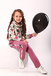 Спортивний костюм для дівчинки Flora ТМ Модный карапуз