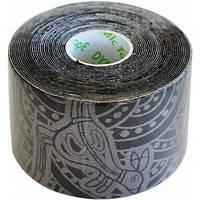 Dynamic Tape Динамический тейп Dynamic Tape Eco 5см х 5м (черный с серым тату)