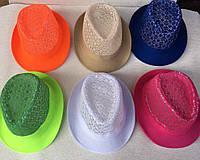 Шляпа молодежная челинтано Размер 52-54-57,58